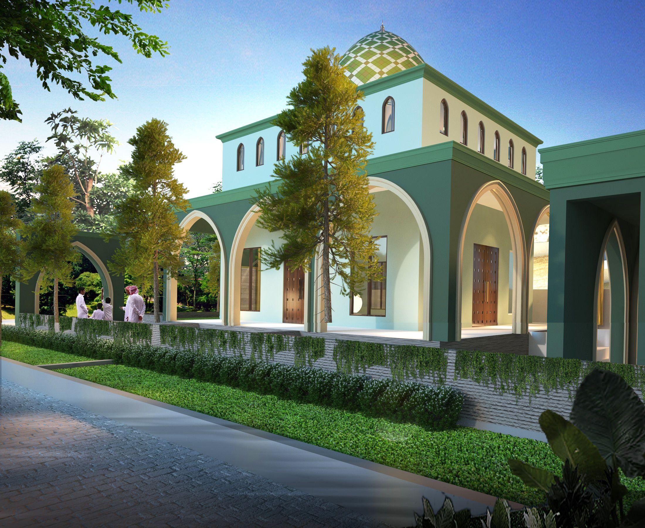 Eksterior - Masjid Pancur Batu